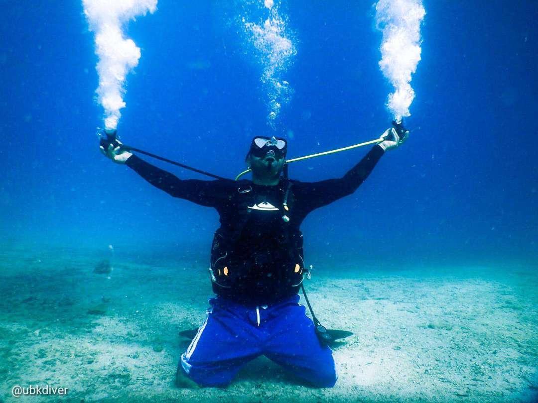 Dive+潜水员ubkdiver的精彩瞬间