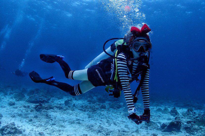 Dive+潜水员miru的精彩瞬间
