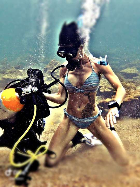 Dive+精彩瞬间,一起体验在Bali的潜水