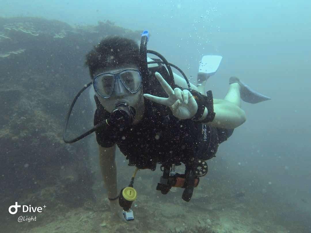 Dive+潜水员Light的精彩瞬间