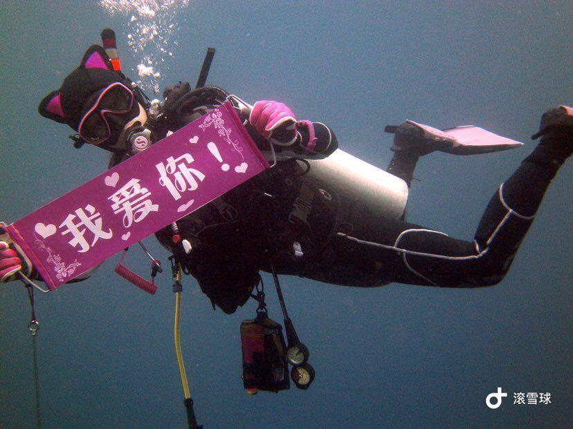 Dive+潜水员55263355的精彩瞬间