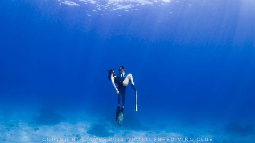 Dive+潜水员qianshuidae的精彩瞬间