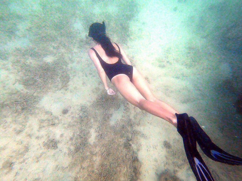 Dive+潜水员euncie的精彩瞬间