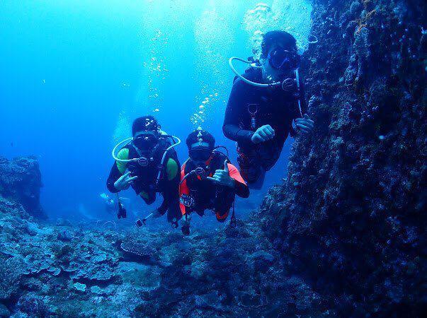 Dive+潜水员ryyyan的精彩瞬间
