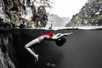 Dive+潜水员nannann