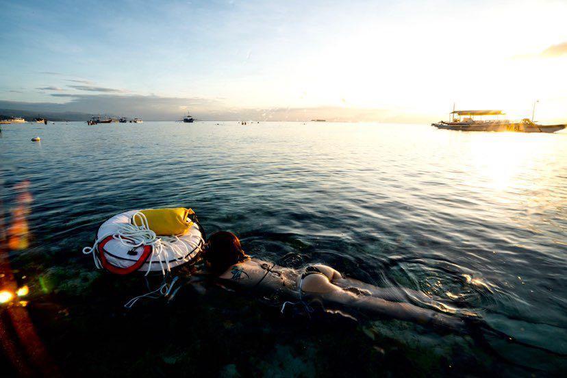 Dive+潜水员nannann的精彩瞬间