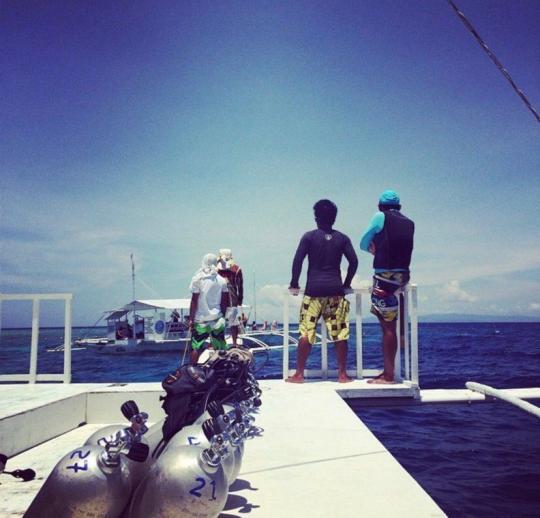 Dive+热门主题:#潜水员的另一半